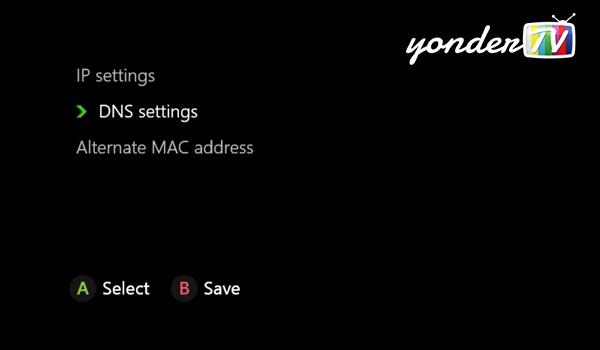 xbox one dns settings manual